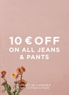 trousers and jeans.