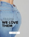 jeans we love them, shop now