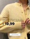selected knitwear 19,99 shop now