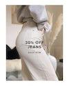 30% off jeans, shop now