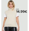 lucky knitted vest, shop now, now 149kr