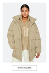 jackets, holly puffer jackets, shop now