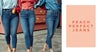 Lookbook, Peach Perfect Jeans, Peachy High, Never Denim