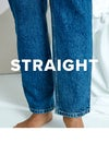straight, jeans
