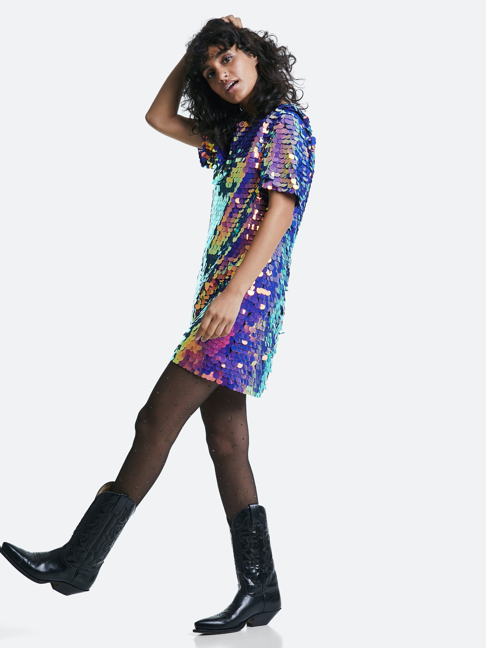 Sparkle dress | bikbok | Worldwide