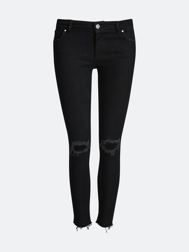 Icon BLK Valley jeans. Front. Manequin. 2a95721a06bcf